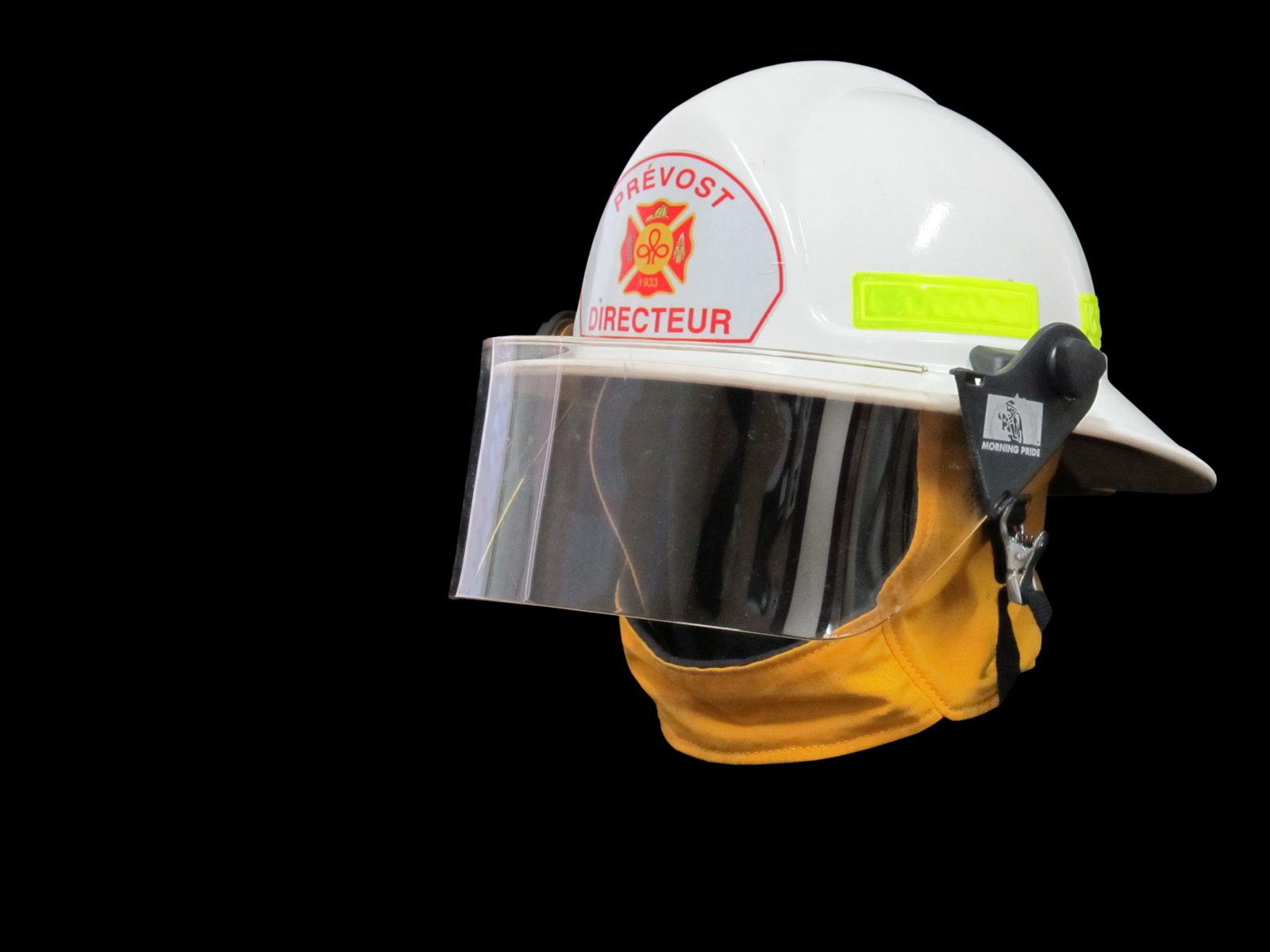 Casque de Robert Monette