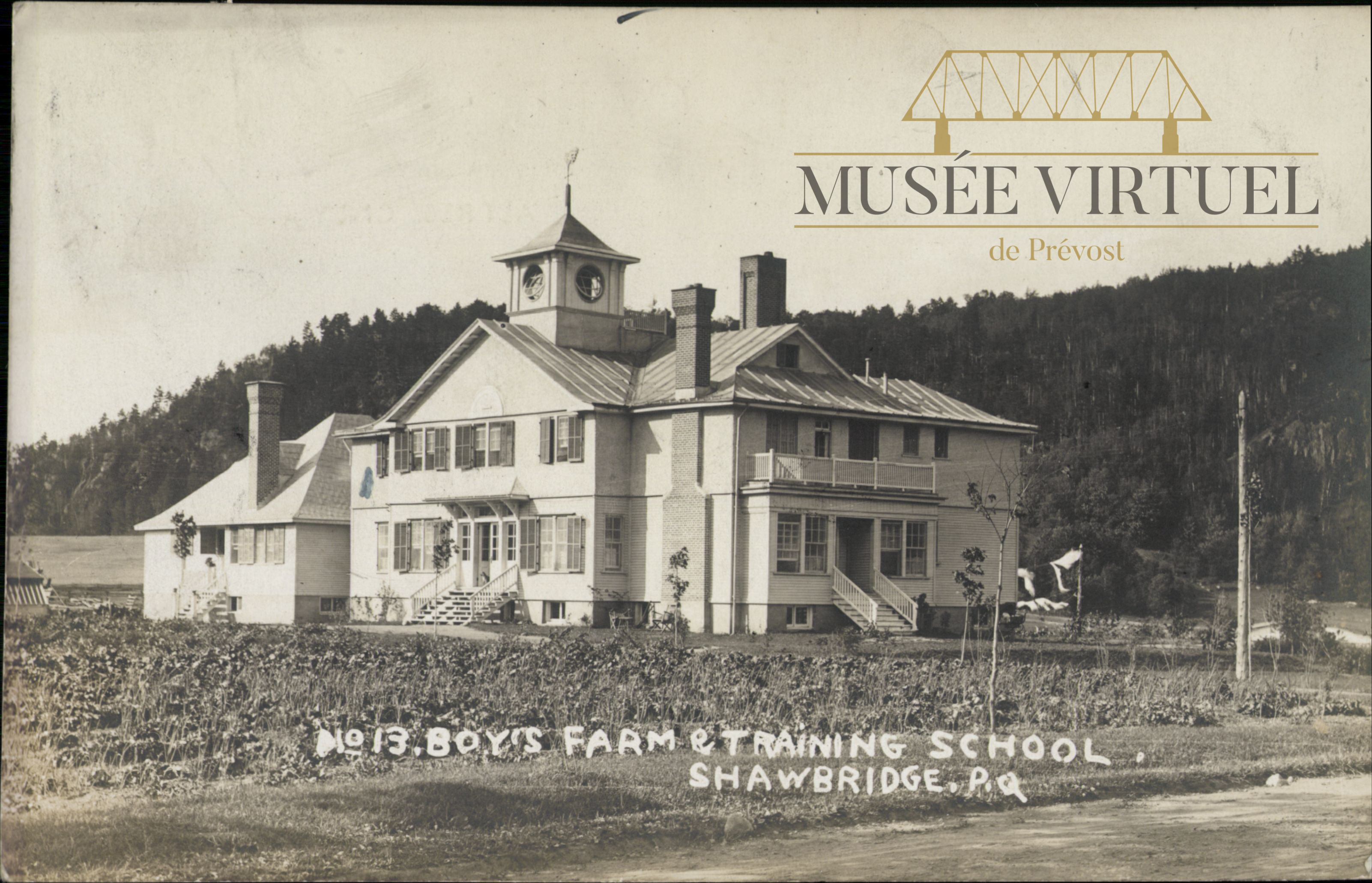 9. Le Boy's Farm & Training School - Collection de Bibliothèque et Archives nationales du Québec