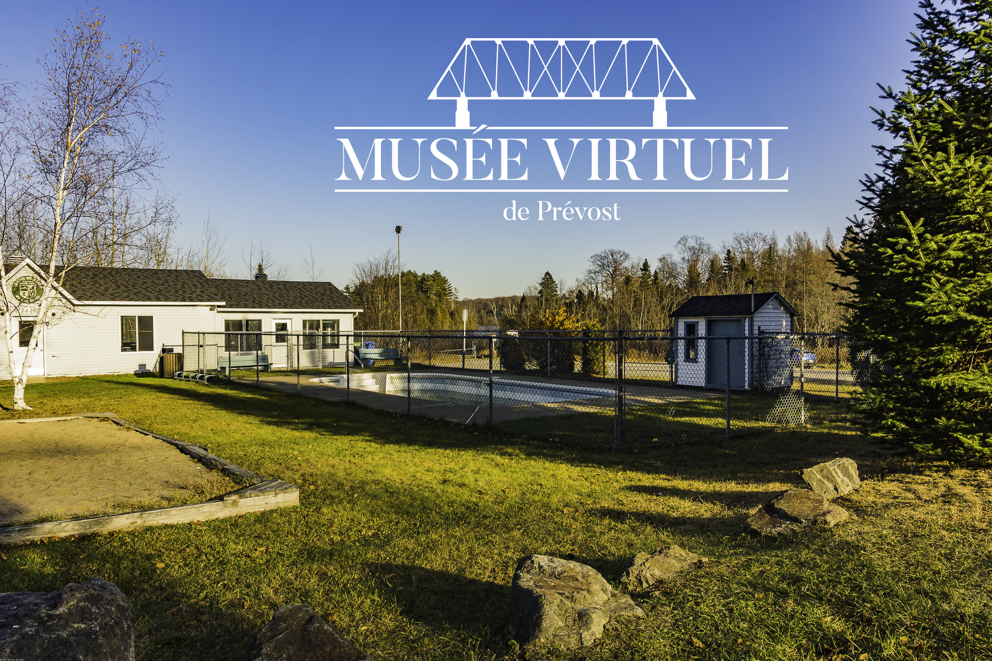Pavillon Michel-Leduc en 2016 - Collection de la Ville de Prévost - © Gaston Bessette