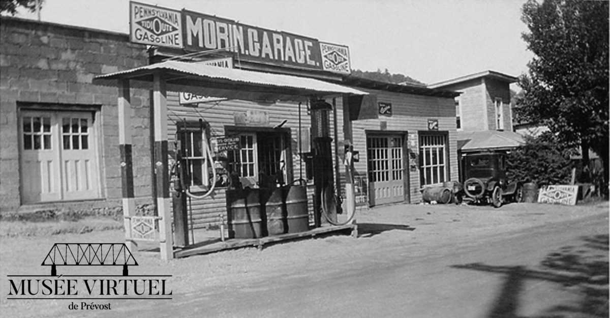 Garage Morin,vers 1930 - Collection de la famille Morin